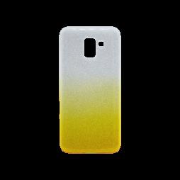 Samsung Galaxy J6 - Gumiran ovitek (TPUB) - rumena