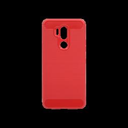 LG G7 ThinQ - Gumiran ovitek (TPU) - rdeč A-Type