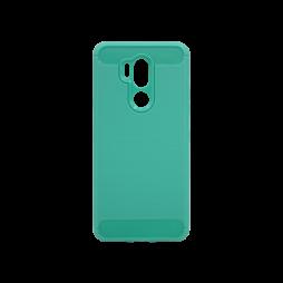 LG G7 ThinQ - Gumiran ovitek (TPU) - zelen A-Type