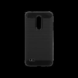 LG K10 (2018) - Gumiran ovitek (TPU) - črn A-Type