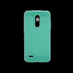 LG K10 (2018) / K11 - Gumiran ovitek (TPU) - zelen A-Type