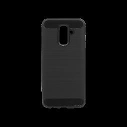 Samsung Galaxy A6+ (2018) - Gumiran ovitek (TPU) - črn A-Type