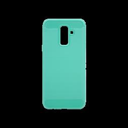 Samsung Galaxy A6+ (2018) - Gumiran ovitek (TPU) - zelen A-Type