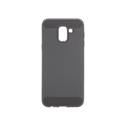 Samsung Galaxy J6 - Gumiran ovitek (TPU) - siv A-Type