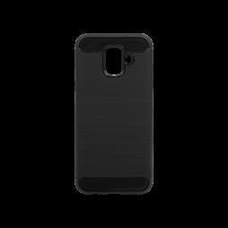 Samsung Galaxy A6 (2018) - Gumiran ovitek (TPU) - črn A-Type