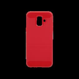 Samsung Galaxy A6 (2018) - Gumiran ovitek (TPU) - rdeč A-Type