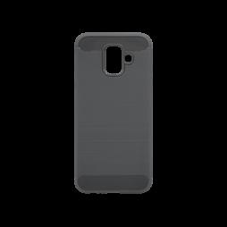 Samsung Galaxy A6 (2018) - Gumiran ovitek (TPU) - siv A-Type
