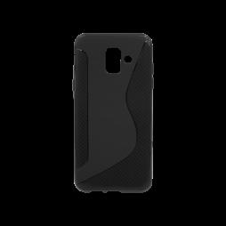 Samsung Galaxy A6 (2018) - Gumiran ovitek (TPU) - črn CS-Type