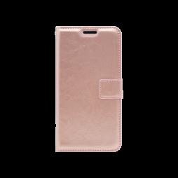 Samsung Galaxy A6 (2018) - Preklopna torbica (WLC) - roza-zlata