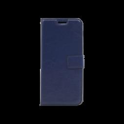 Samsung Galaxy A6+(2018) - Preklopna torbica (WLC) - temno modra