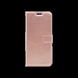 Samsung Galaxy A6+(2018) - Preklopna torbica (WLC) - roza-zlata