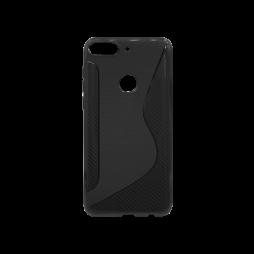 HTC Desire 12+ - Gumiran ovitek (TPU) - črn CS-Type