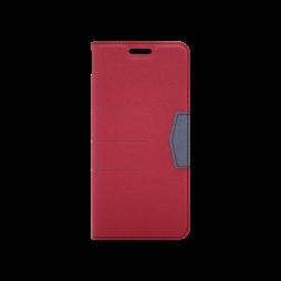 Samsung Galaxy J6 (2018) - Preklopna torbica (47G) - rdeča