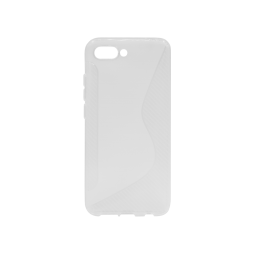 Huawei Honor 10 - Gumiran ovitek (TPU) - belo-prosojen CS-Type