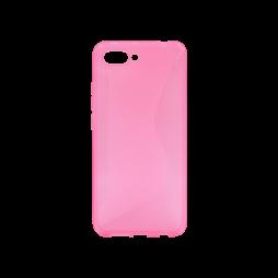 Huawei Honor 10 - Gumiran ovitek (TPU) - roza-prosojen CS-Type
