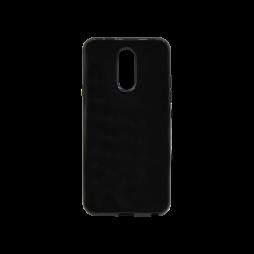LG Q7 - Gumiran ovitek (TPU) - črn svetleč
