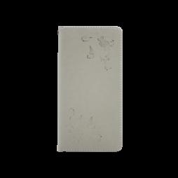Samsung Galaxy A6 (2018) - Preklopna torbica (WLGO-Butterfly) - siva
