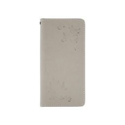 Samsung Galaxy J6 - Preklopna torbica (WLGO-Butterfly) - siva