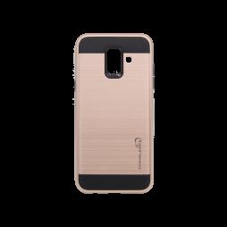 Samsung Galaxy A6 (2018) - Gumiran ovitek (ARM-01) - roza-zlat