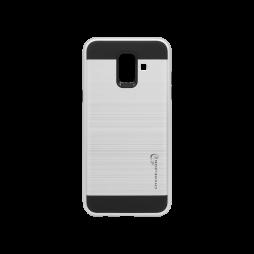 Samsung Galaxy A6 (2018) - Gumiran ovitek (ARM-01) - srebrn
