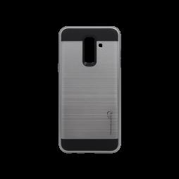 Samsung Galaxy A6+ (2018) - Gumiran ovitek (ARM-01) - siv