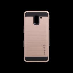 Samsung Galaxy J6 - Gumiran ovitek (ARM-01) - roza-zlat