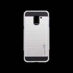 Samsung Galaxy J6 - Gumiran ovitek (ARM-01) - srebrn