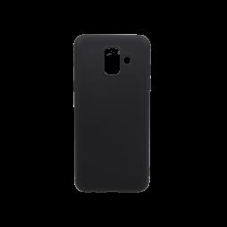 Samsung Galaxy A6 (2018) - Gumiran ovitek (TPU) - črn MATT