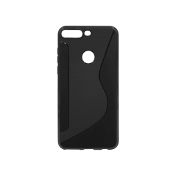Huawei Y7 Prime (2018) - Gumiran ovitek (TPU) - črn CS-Type
