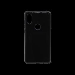 Xiaomi Mi Mix 2s - Gumiran ovitek (TPU) - črn svetleč