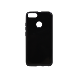 Xiaomi Mi Mix A1 - Gumiran ovitek (TPU) - črn svetleč