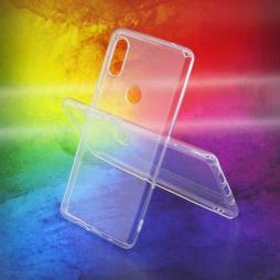 Xiaomi Mi Mix 2s - Gumiran ovitek (TPUA) - prosojen