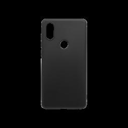 Xiaomi Mi Mix 2s - Gumiran ovitek (TPU) - črn MATT