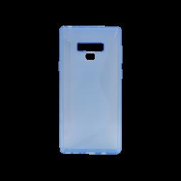 Samsung Galaxy Note 9 - Gumiran ovitek (TPU) - modro-prosojen CS-Type