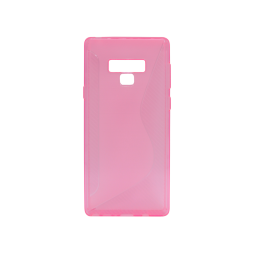 Samsung Galaxy Note 9 - Gumiran ovitek (TPU) - roza-prosojen CS-Type