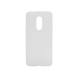 Vodafone Smart N9 / A1 Smart N9 - Gumiran ovitek (TPUM) - belo-prosojen mat