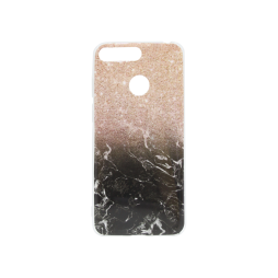 Huawei Y6 (2018) - Gumiran ovitek (TPUP) - Marble 1
