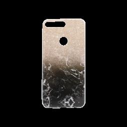 Huawei Y7 Prime (2018) - Gumiran ovitek (TPUP) - Marble 1