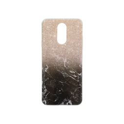 LG Q7 - Gumiran ovitek (TPUP) - Marble 1