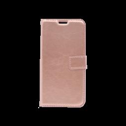 Huawei Y7 Prime (2018) - Preklopna torbica (WLC) - roza-zlata