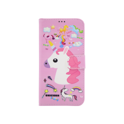 Samsung A530 Galaxy A8 (2018) - Preklopna torbica (WLGP) - Unicorn