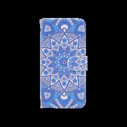 Samsung A530 Galaxy A8 (2018) - Preklopna torbica (WLGP) - Retro totem flower