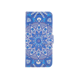 Samsung G960 Galaxy S9 - Preklopna torbica (WLGP) - Retro totem flower