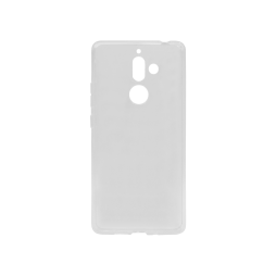 Nokia 7 Plus - Gumiran ovitek (TPU) - prosojen svetleč