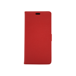 Nokia 7 Plus - Preklopna torbica (WLG) - rdeča