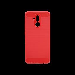 Huawei Mate 20 Lite - Gumiran ovitek (TPU) - rdeč A-Type