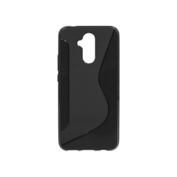 Huawei Mate 20 Lite - Gumiran ovitek (TPU) - črn CS-Type