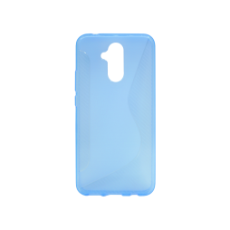 Huawei Mate 20 Lite - Gumiran ovitek (TPU) - modro-prosojen CS-Type
