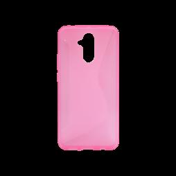 Huawei Mate 20 Lite - Gumiran ovitek (TPU) - roza-prosojen CS-Type