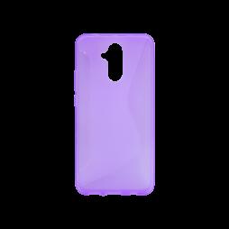 Huawei Mate 20 Lite - Gumiran ovitek (TPU) - vijolično-prosojen CS-Type